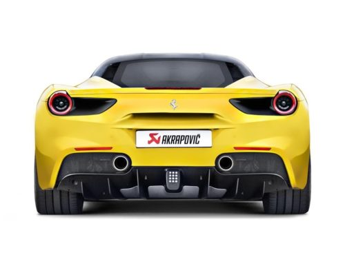 Akrapovic onthuld de nieuwe Akrapovic uitlaat voor de Ferrari 488 GTB