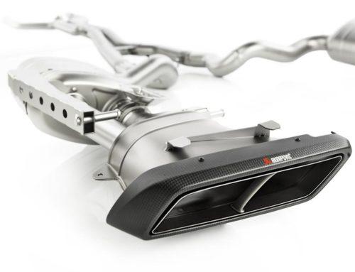 Akrapovic introduceert nieuwe uitlaat voor de Mercedes AMG