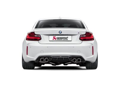 BMW M2 Akrapovic uitlaat