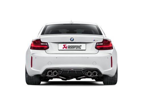 Akrapovic introduceert nieuwe uitlaat voor de BMW M2
